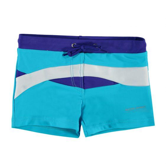 Kinder Zwembroek Kopen.Nickey Nobel Blauw Witte Kinder Zwembroek Colorblock